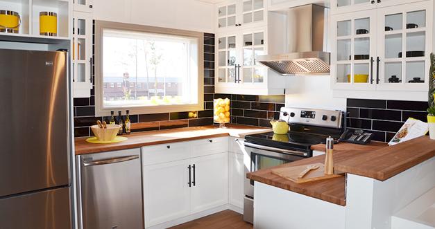 Armoires de cuisine sur mesure blainville et rive nord for Cuisine style campagnard